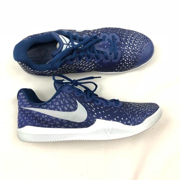 293d7cf4b98a Nike Kobe Mamba Instinct Sneakers Navy Blue White